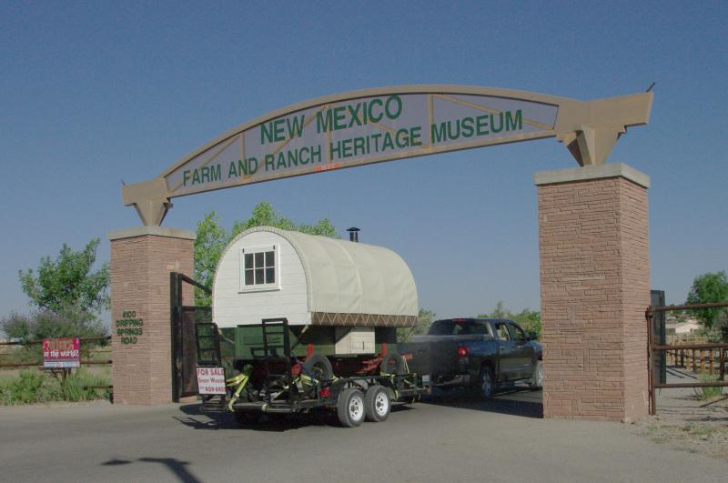 Our Sheep was purchased by New Mexico Farm Ranch Hertiage Muesum