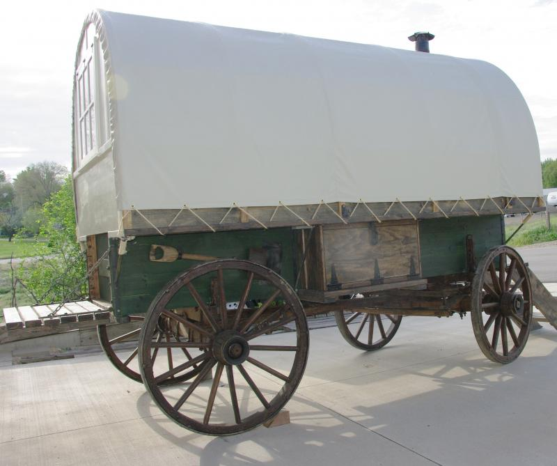 Antique Wood Box That Opens For Storage And Antique Shovel Brings Charm Sheep  Wagon ...