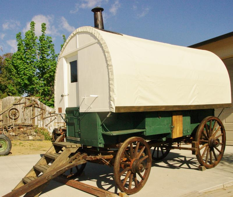 after same wagon after - Sheep Wagon