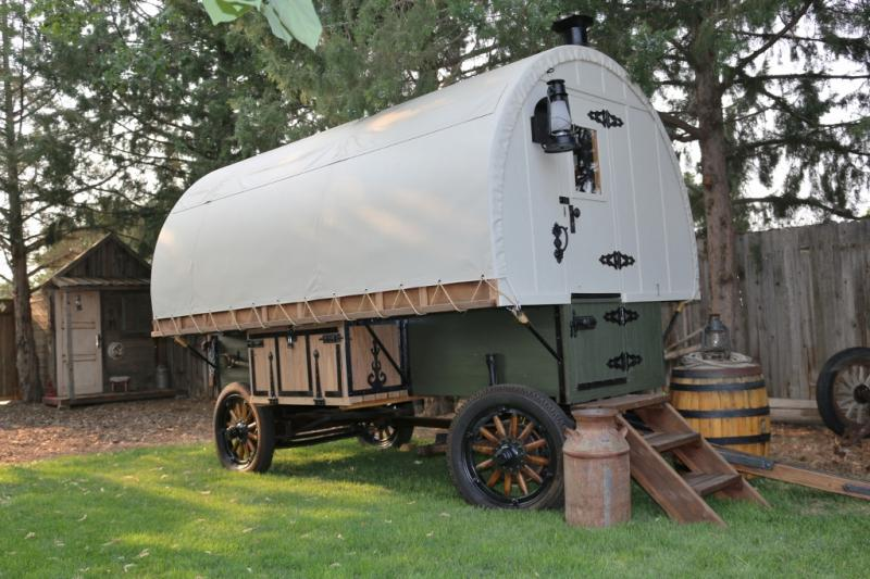 Idaho Sheep Camp Inc Idaho Sheep Wagons are built in old