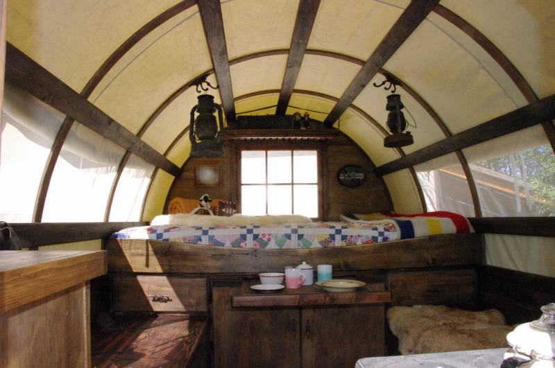 as you step inside wow the natural light brings such warmth and life to wagon
