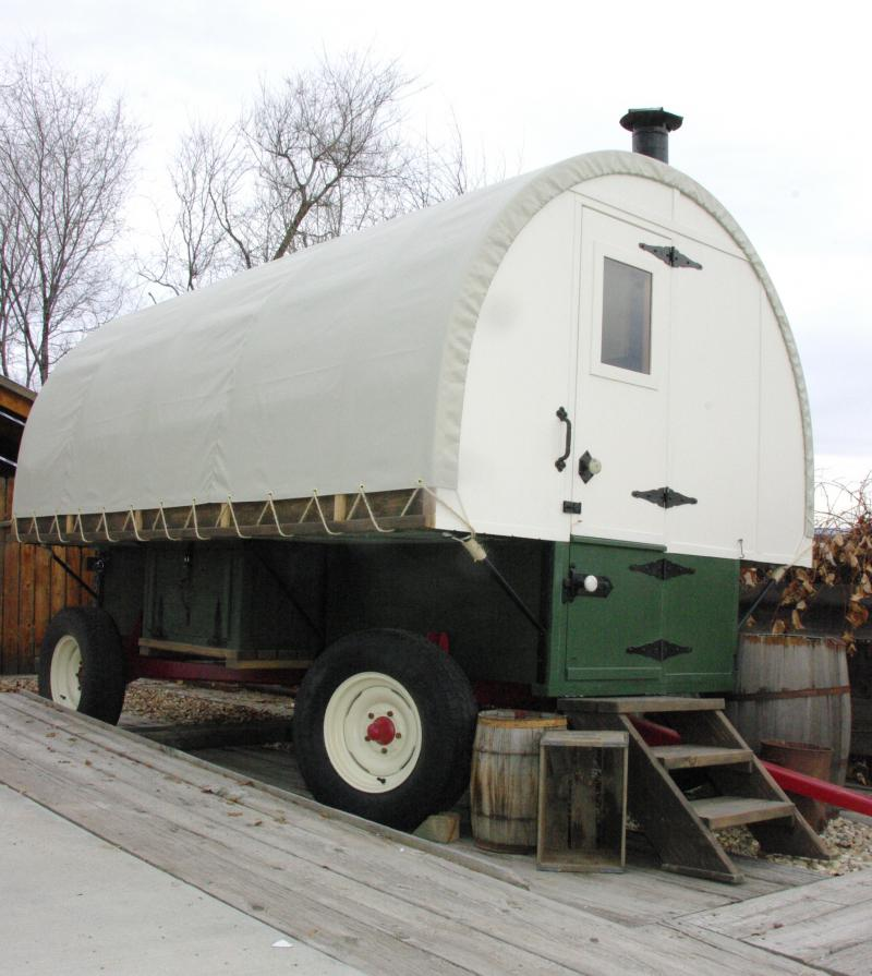 We can also custom build your Sheep Wagon to meet your wants and needs