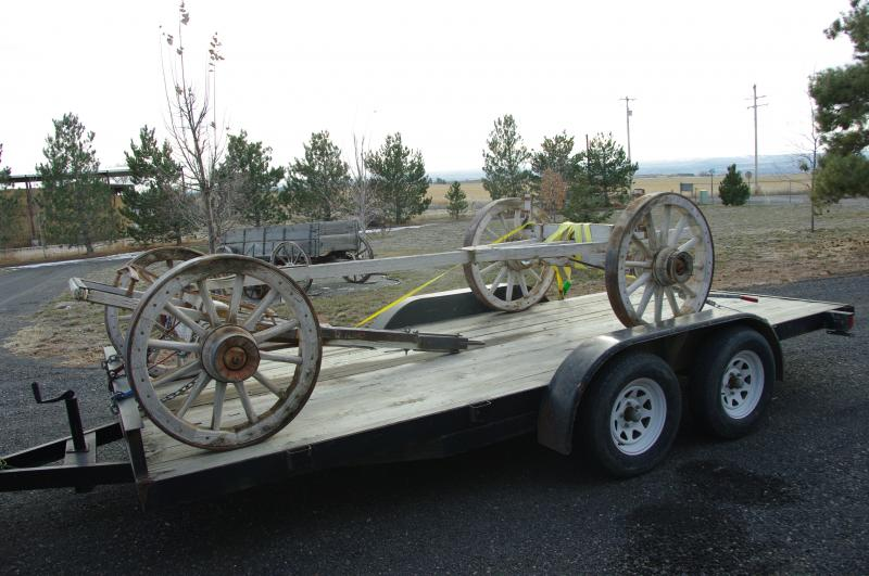 Old Wagon Gears : Idaho sheep camp inc different styles of running gear