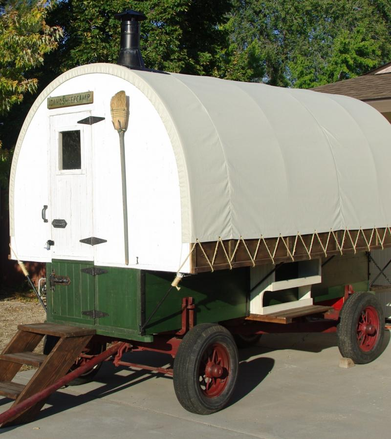 Idaho Sheep Camp Inc Traditional Sheep Wagon